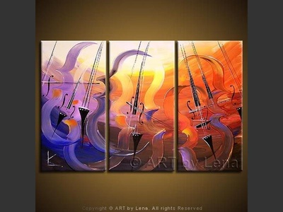 Remembering Mstislav Rostropovich - contemporary painting