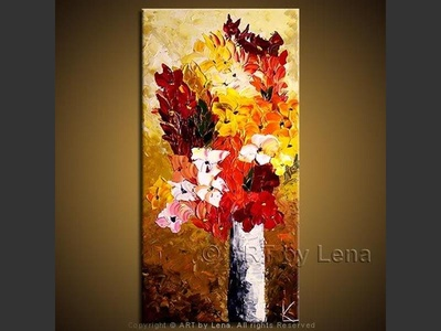 From Russia With Love - original painting by Lena Karpinsky
