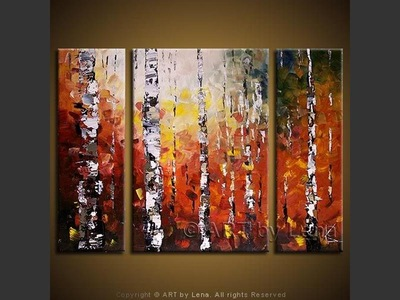 Aspen Ridge - contemporary painting