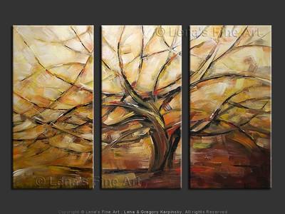 Tree Of Life - modern artwork