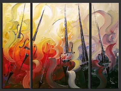 Symphonic Poem - contemporary painting