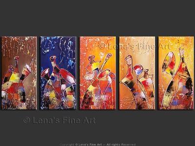 Le bonheur de vivre (The Joy of Life) - wall art