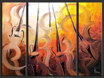 Andante In Sunbeams - original painting by Lena Karpinsky