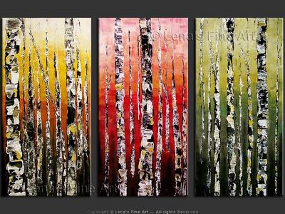 Mountain Aspens - wall art