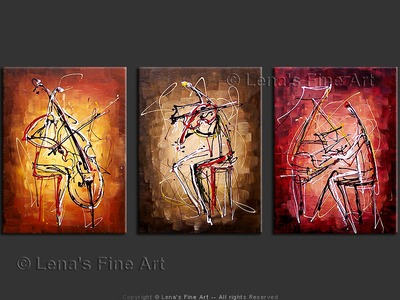 Night Music Trio - wall art