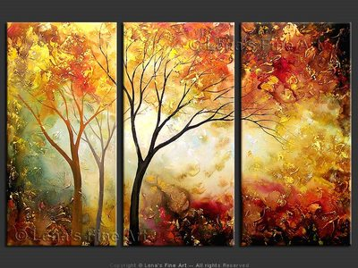 Autumn Days - contemporary painting
