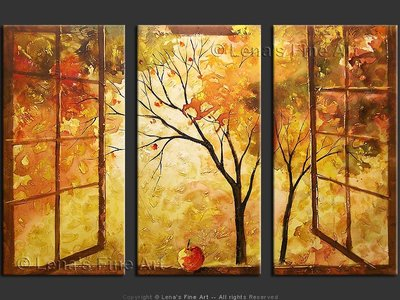 The Open Window - contemporary painting