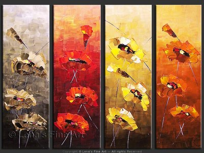 All-season Bloom - contemporary painting