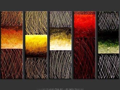 Ebony Pulse - modern artwork