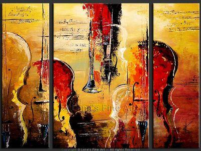 Orchestra - modern artwork