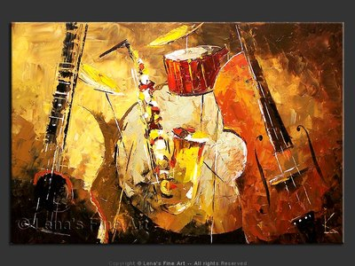 San Diego Jazz Band - home decor art