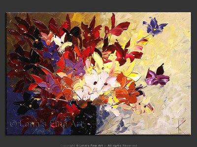 Bouquet For Violetta - modern artwork