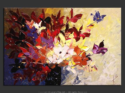 Bouquet For Violetta - wall art