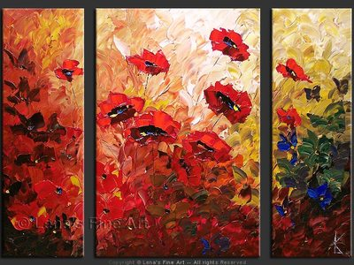 Field Bouquet - wall art