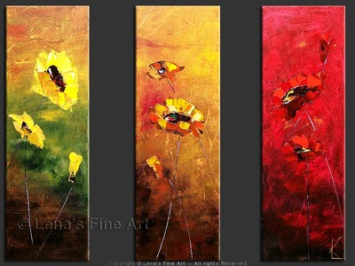 Autumn Romance - contemporary painting