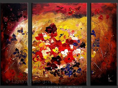 The World Of Flowers - art for sale