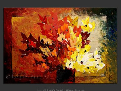 Bouquet For You - contemporary painting