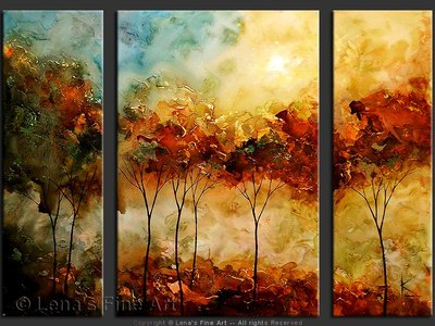 Autumn Winds - contemporary painting