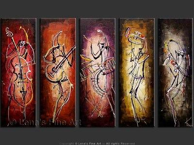 Quintet - modern artwork