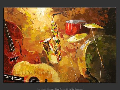 New Orleans Jazz - modern artwork