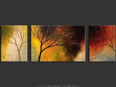 Late Autumn Evening - wall art