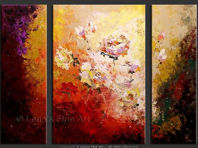 Beautiful Roses - contemporary painting