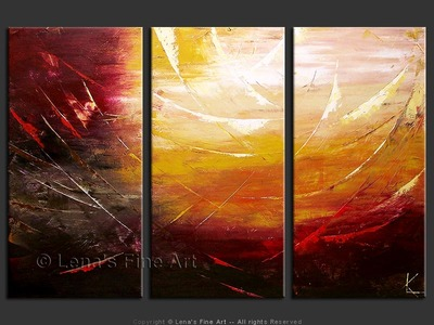 Deep Space - original canvas painting by Lena