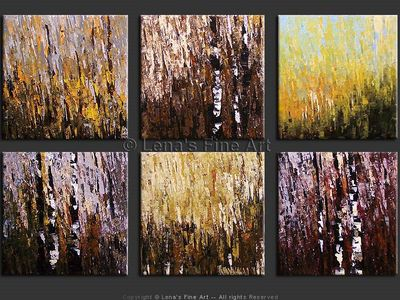 Aspen Mosaic - contemporary painting