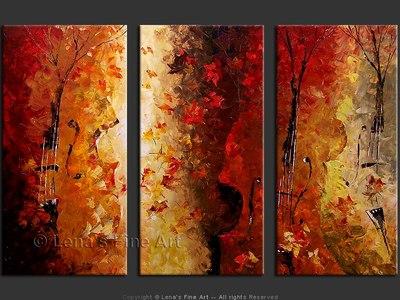 Autumn Valse - modern artwork
