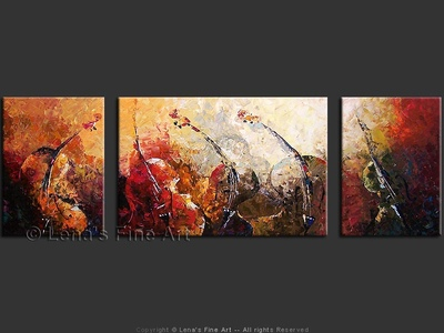 Mystery of Beethoven's Ninth - modern artwork