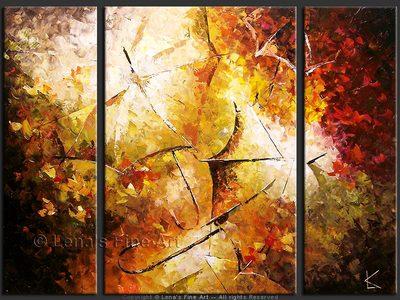 Rain, Sun and Flowers - wall art