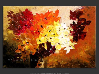December Bouquet - modern artwork