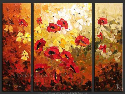 Beautiful Poppies - art for sale
