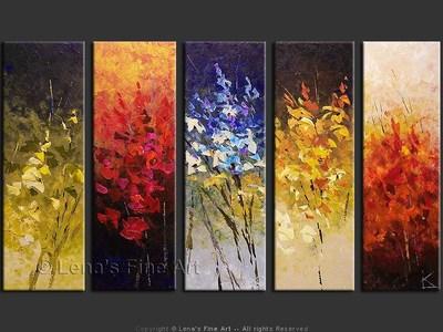 Gladiolus - home decor art