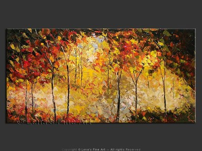 Fall In Pennsylvania - contemporary painting
