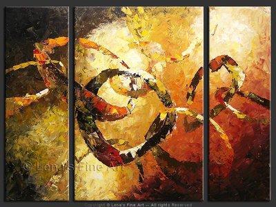 Du Soleil : Galactic Dance - original painting by Lena Karpinsky
