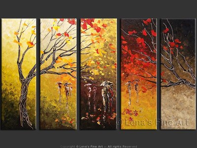 Tears Of The Fall - contemporary painting