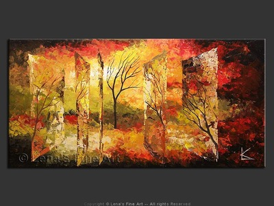 Surreal Dreams in the Fall - home decor art