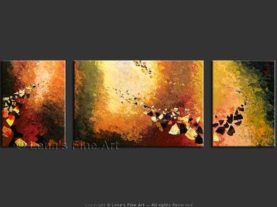 Du Soleil : Asteroids - contemporary painting