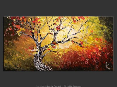Autumn Is Almost Here - modern artwork