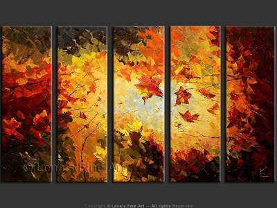 Maples - contemporary painting