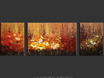 Alpine Field of Flowers - wall art