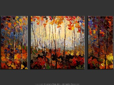 October Forest - art for sale