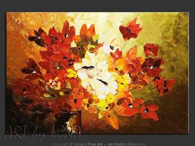 Sunlight Bouquet - original painting by Lena Karpinsky