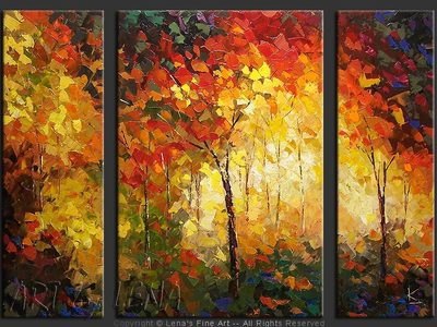 Huntersville Forest - home decor art