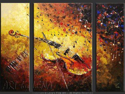 Viola Dreams - wall art