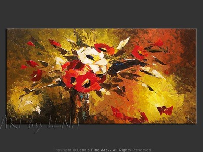 """La Traviata"" Bouquet - wall art"