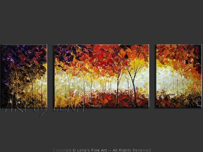 Evening Forest - wall art