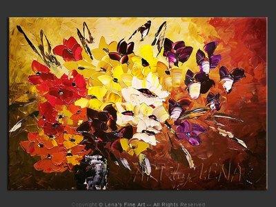 Viola Bouquet - home decor art