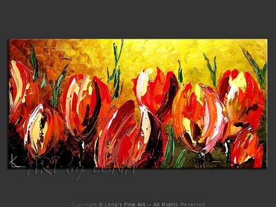Giant Tulips - art for sale